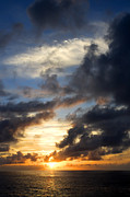Tropical Photo Prints - Tropical Sunset Print by Fabrizio Troiani