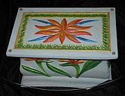 Table Ceramics - Tropical Table by Mickie Boothroyd