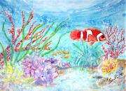 Tropical Fish - Tropicana  by Mary Sedici
