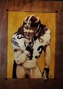 Pittsburgh Steelers Originals - Troy Polamalu by Freddy  Smith