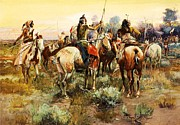 Great Plains Painting Posters - Truce Poster by Pg Reproductions
