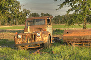 Arkansas Framed Prints - Truck and Tank 18 Framed Print by Douglas Barnett