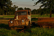 Arkansas Framed Prints - Truck and Tank 27 Framed Print by Douglas Barnett