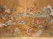 Fishing Pyrography - Truck Dispatcher by Doris Lindsey