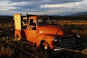 Taos Prints - Truck Sign Print by Wayne Archer