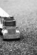 Asphalt Photos - Truck  by Sophie Vigneault