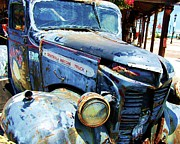 Headlight Prints - Truckin Print by Debbi Granruth