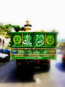 Lebanon Framed Prints - Trucking across Lebanon Framed Print by Funkpix Photo  Hunter