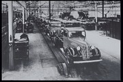Sao Paulo Framed Prints - Trucks On Assembly General Motors, Sao Paulo, Brazil Framed Print by Archive Holdings Inc.