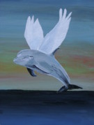 Acrylic On Canvas - True Angel 3 by Eric Kempson