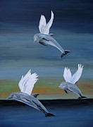 Postage Included Paintings - True Angels by Eric Kempson