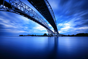 Spans Prints - True Blue View Print by Gordon Dean II