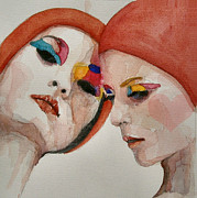 People Paintings - True colors by Paul Lovering