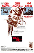True Grit Photo Posters - True Grit, Kim Darby, John Wayne, Glen Poster by Everett