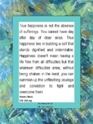 Healing Posters Posters - True Happiness Poster by  Laurie Homan