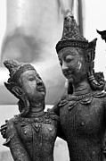 Buddhist Art - True Love Ways by Dean Harte