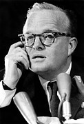 Capote Framed Prints - Truman Capote As He Appeared Framed Print by Everett