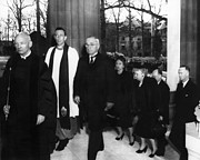 Francis Photo Prints - Truman Presidency. From Left Cathedral Print by Everett
