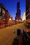 Chicago Photographs Framed Prints - Trump Tower Framed Print by Donald Schwartz