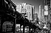 Chicago Black White Posters - Trump Tower Poster by George Imrie Photography