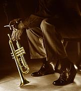 Jazz Photos - Trumpet 2 by Tony Cordoza