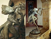 Celebrities Sculpture Originals - Trumpeter Draped by Richard MacDonald