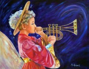 Anne Kushnick - Trumpeting Angel