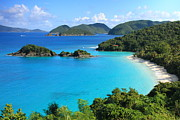 Trunk Bay St. John Print by Roupen  Baker
