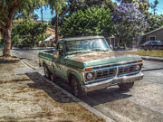 Cindy Nunn Art - Trusty Old Ford by Cindy Nunn