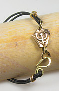 Seeker Jewelry - Truth Seeker Nautical Bronze Bracelet by Virginia Vivier