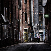 Lane Photo Prints - Tryst Print by Andrew Paranavitana