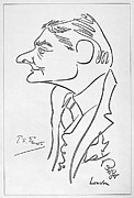 Caricature Photo Posters - T.s. Eliot (1888-1965) Poster by Granger