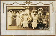 Russian Revolution Framed Prints - Tsar Nicholas Ii And Family Framed Print by Science Source