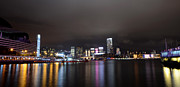 Tsim Sha Tsui Prints - Tsim Sha Tsui - Kowloon At Night Print by Enrique Rueda