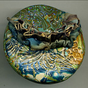 Brooch Jewelry - Tsunami by Allie Hafez