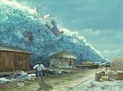 Chris Butler and Photo Researchers - Tsunami