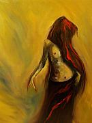 Nude Painting Metal Prints - Tu Solo Tu Metal Print by Niki Sands