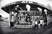 Seaside Heights Prints - Tub Game Print by John Rizzuto