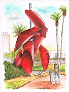 Phoenix Originals - Tubular-sculpture-in-LACMA-CA by Carlos G Groppa