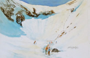 Sking Prints - Tuckermans Ravine II Print by Harding Bush