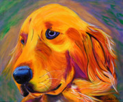 Retriever Prints Originals - Tucson by Andrea Folts