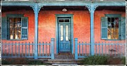 Barrio Framed Prints - Tucson front porch Framed Print by Matt Suess
