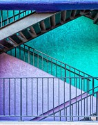 Matt Suess Prints - Tucson staircase Print by Matt Suess