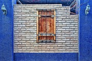 Matt Suess Prints - Tucson wooden shutter Print by Matt Suess