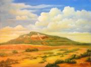 Reynolds Paintings - Tucumcari New Mexico by Carol Reynolds