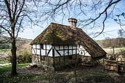 The White House Photo Prints - Tudor House Pendine Farm Print by Dawn OConnor