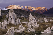 Tufa Posters - Tufa Towers At Mono Lake Poster by Capturing the Beauty of Nature Through Light and Time