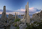 Tufa Posters - Tufa Towers Poster by Bob Gibbons