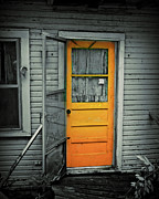 Screen Doors Photo Metal Prints - Tuff Times Metal Print by Perry Webster