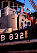 1987 Metal Prints - Tug Boat Metal Print by Thomas R Fletcher